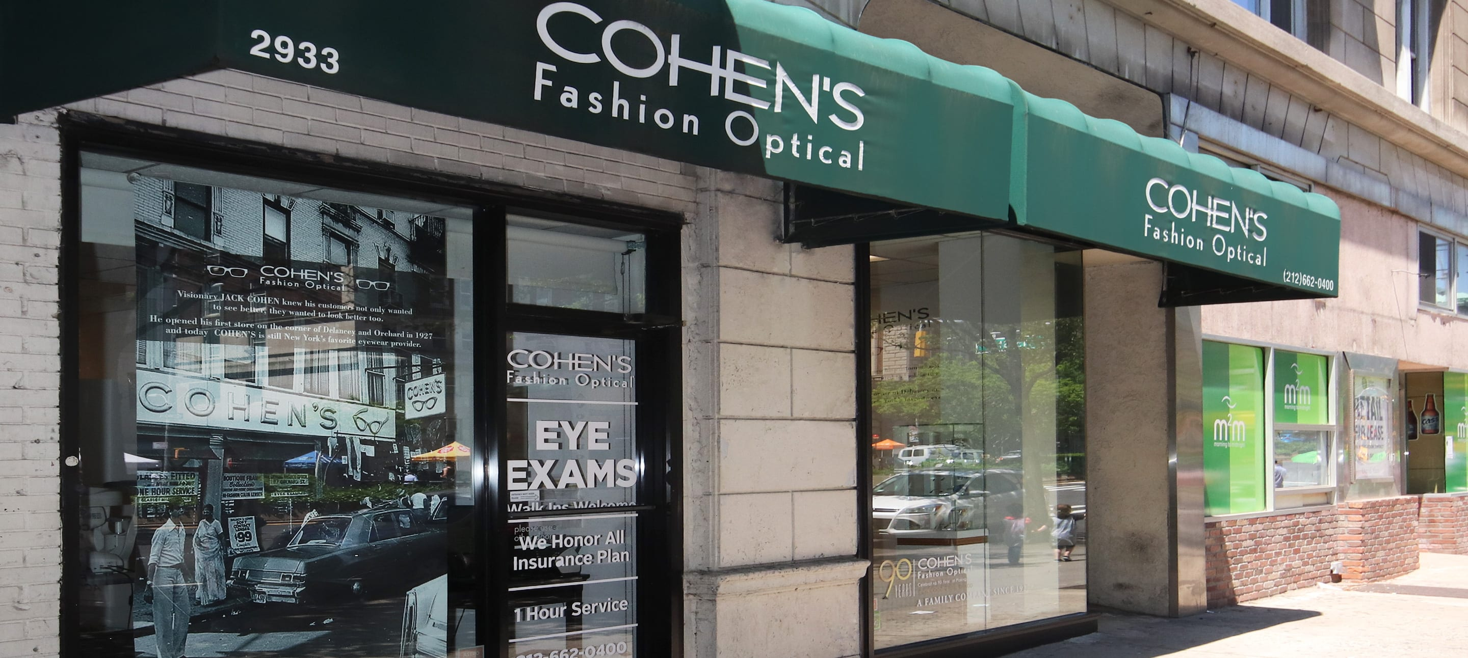 Eyeglasses Amp Eye Exams 2933 Broadway New York Nycohen S