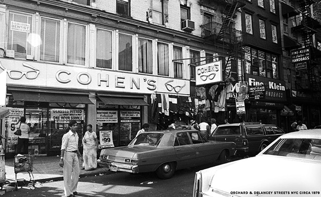 Vintage photo of Cohens location